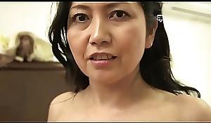 Pinch House - Japanese Granny Azusa Mayumi Strips in The brush Abode