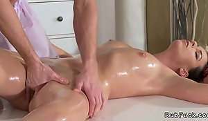 Young masseuse tears up obscurity Milf