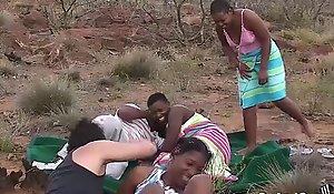 Real african safari coitus orgy