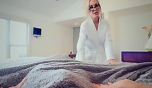 Brazzers - Matriarch Got Titties -  Hands-On Education scene starring Brandi Adore together with Jordi El Niño
