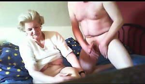 Beautiful Granny - Have a passion - Oral – Handjob - Part 1