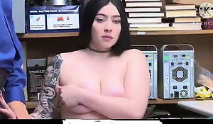 Sweetest increased by cute pornography actress fucked in a shop