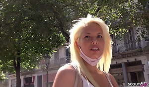 GERMAN SCOUT - BLONDE FIT Latin babe MACARENA, PICKUP AND Turtle-dove