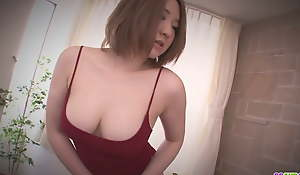 Chunky arsed Alice Ozawa fucked in a Japanese oral-sex movie